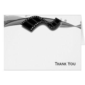 De Strook van de film op Zwart-wit Lint Briefkaarten 0