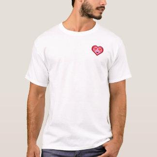 De super T-shirt van Emoji van het Hart van de