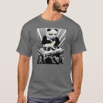 De T-shirt van Bling Bling van de Panda van DJ