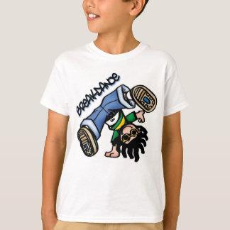 De t-shirt van Breakdance