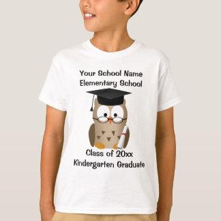 De T-shirt van de Afstuderen van de Kleuterschool