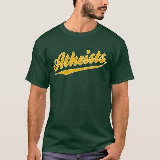 De T-shirt van de Atheïst van sporten