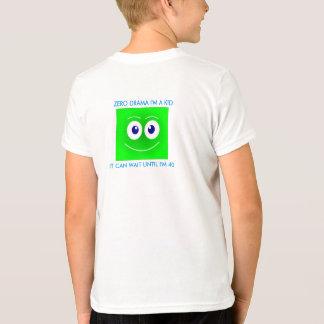 De t-shirt van de emotie, emoji, glimlach, nul