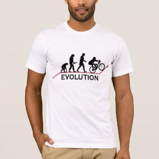 De t-shirt van de Evolutie van de Fiets van de
