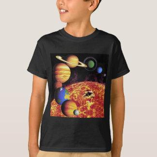 De T-shirt van de Planeten van het zonnestelsel