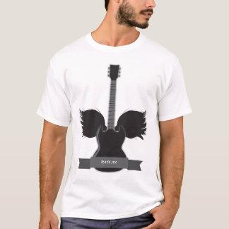 De T-shirt van de Vleugels van de gitaar