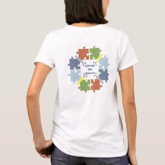 De T-shirt van de Vlinders van het autisme