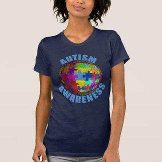 De T-shirt van de Voorlichting van het Autisme van