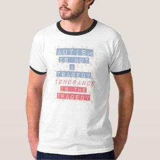 De t-shirt van het autisme