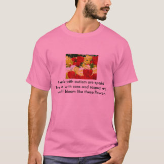 De T-shirt van het autisme, Bloemen