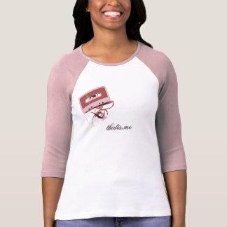 De T-shirt van het Lint van de band