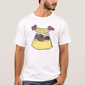 De T-shirt van het vrijgezellenfeest