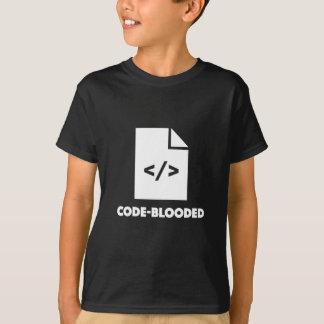 De t-shirtprogrammeur van de codeur nerd geek t shirt