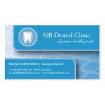 De tand/Visitekaartjes van de Orthopedist
