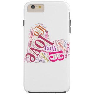 De Telefoon van de liefde Tough iPhone 6 Plus Hoesje