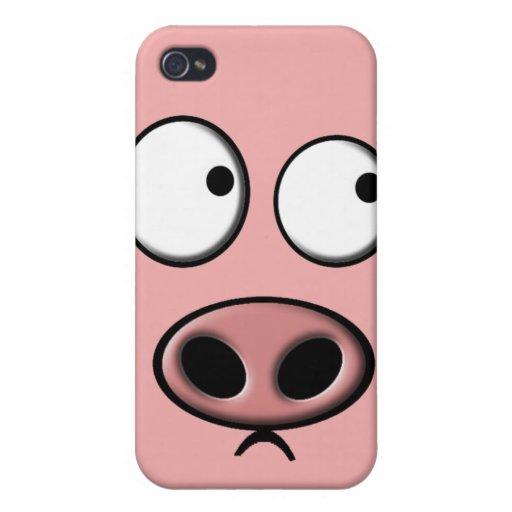 De Telefoon van het varken iPhone 4 Cases