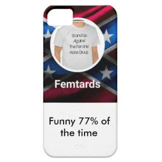De telefoonhoesje van Femtards Barely There iPhone 5 Hoesje