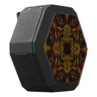 De Textuur van de Bloem van de Toon van de aarde Zwarte Bluetooth Speaker