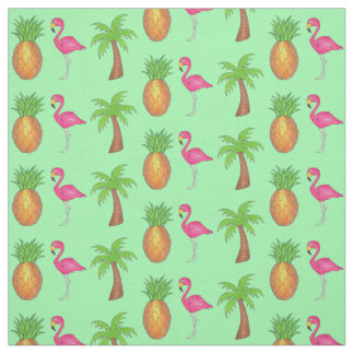 De tropische Roze Ananas van de Palm van de Stof