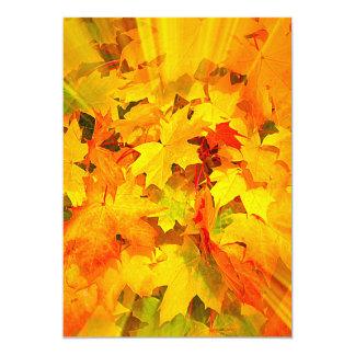 De Uitbarsting van de kleur van de Kleuren van de 12,7x17,8 Uitnodiging Kaart