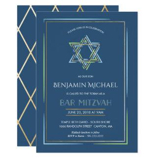 De Uitnodiging van de bar mitswa - Jodenster met