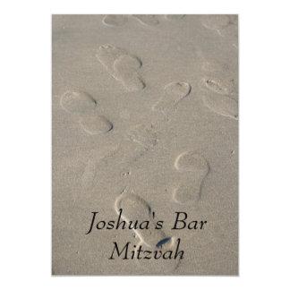 De Uitnodiging van de bar mitswa/van Mitzvah van