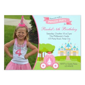 De Uitnodiging van de Verjaardag van de prinses