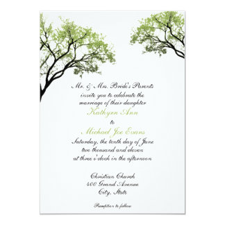 De Uitnodiging van het Huwelijk van de Bomen van