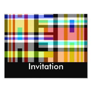 De uitnodigingen Creëer Uw Eigen Kleuren