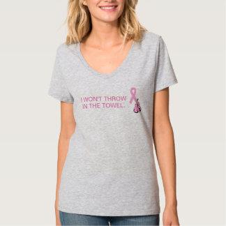De v-Hals van de Voorlichting van het Lint van T Shirt
