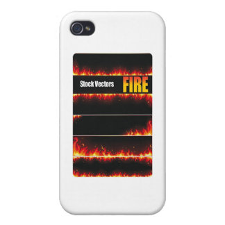 De Vector van de brand iPhone 4 Cover