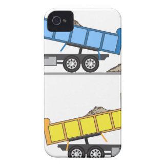 De vector van de Vrachtwagen van de stortplaats iPhone 4 Hoesje