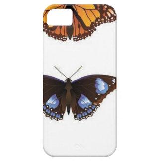 De vector van vlinders Case-Mate iPhone 5 hoesjes