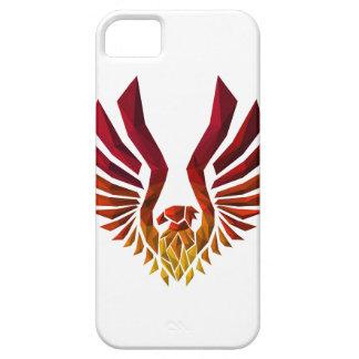 De veelhoek van Phoenix Barely There iPhone 5 Hoesje