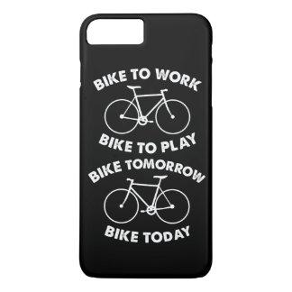De vélo recyclage frais pour toujours - coque iPhone 7 plus