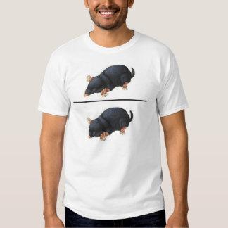De Verhouding van de Mol van Dom'e Overhemd T-shirts