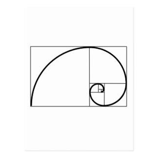 De Verhouding van Fibonacci Briefkaart