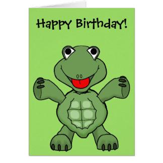 De Verjaardag van de schildpad Kaart