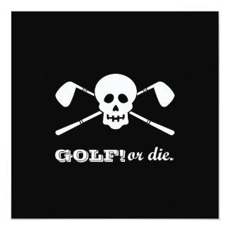 De Verjaardag van het golf vijftigste - het Kaart