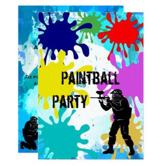 De Verjaardag van Paintball dertiende Kaart