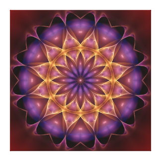 De versterker van Mandala Canvas Afdruk