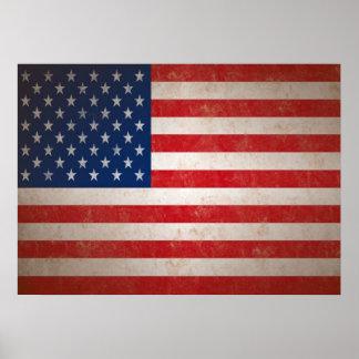 De vintage Amerikaanse Druk van de Kunst van de Vl Poster