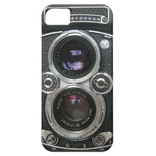 De vintage Antiek Dekking van het Geval van de Cam iPhone 5 Case-Mate Hoesjes