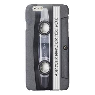 De vintage Band van de Cassette van de Muziek ziet iPhone 6 Hoesje Glanzend
