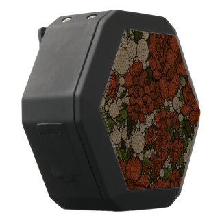 De vintage BloemenSamenvatting van de Textuur Zwarte Bluetooth Speaker