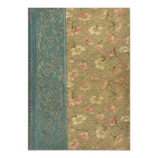 De vintage Dekking van het Boek Kaart