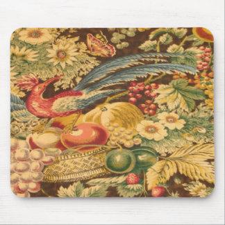De vintage Franse Vlinder Mousepad van de Vogel Muismat