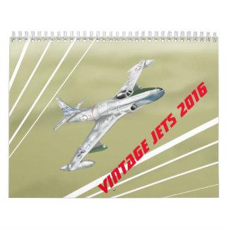 De vintage Kalender 2016 van Stralen