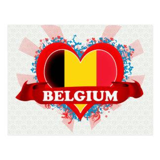 De vintage Liefde België van I Wens Kaarten