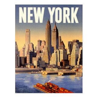 De vintage Stad van New York de V S -